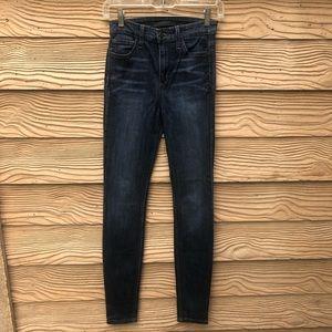 Women's 24 High Rise Skinny Joe's Jeans